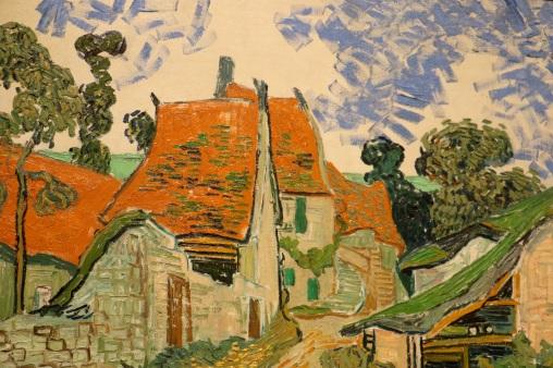Street in Auvers-sur-Oise, por Vincent van Gogh